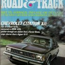 Road & Track May 1979 - Citation Accord Corona Saab BMW
