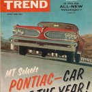 Motor Trend April 1959 - VW Ferrari Porsche Corvette