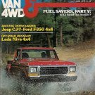 Pickup Van & 4WD Magazine July 1979 Russian Lada Niva