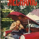 Home Auto Mechanic Aug 1955 Car Magazine Fix Repair Old