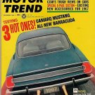 Motor Trend December 1966 - Barracuda Mustang Camaro