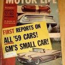 Motor Life September 1958 -Volkswagen, Porsche, 36 Ford
