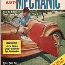 Home Auto Mechanic Sep 1955 Car Magazine Fix Repair Old