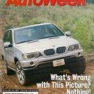 AutoWeek November 22, 1999 - BMW X5 Slot Cars NASCAR