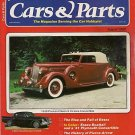 Cars & Parts Magazine 1980 - 1960 Hawk 1936 Victoria