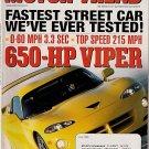 Motor Trend June 1999 - Turbo Beetle Viper Miata Tundra