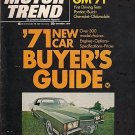 Motor Trend October 1970-Cadillac Eldorado James Garner