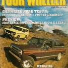 Four Wheeler April 1980 - Ice Racing Range Rover Turbo
