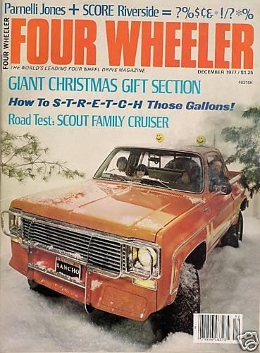 Four Wheeler December 1977 - Willys Riverside Toyota