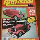 Rod Action May 1982 - 1933 Chevy Convertable