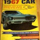1967 Car Previews - Cadillac Cougar Thunderbird Camaro