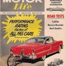 "Motor Life May 1955 - Nash Montclair ""The Racers"" Movie"