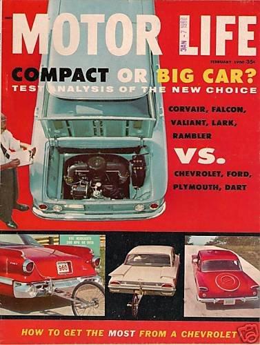 Motor Life February 1960 - Corvair Falcon Dart Valiant