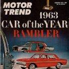 Motor Trend February 1963 - Rambler Dart Le Mans V-326