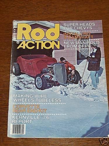 Rod Action Magazine January 1977 - Classic Car Street
