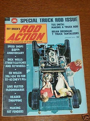Rod Action Magazine January 1973 - Classic Cars Street