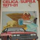 Chilton's Toyota Celica Supra 1971-81 All Models Manual