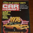 Car Craft Magazine September 1975 - Classic Cars NHRA