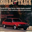 Road & Track December 1980 - Porsche Mazda GLC Datsun
