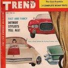 Motor Trend July 1954 - Metropolitan Cadillac Porsche