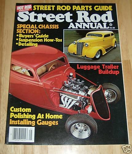 Hot Rod - Street Rod Annual 1982 - Special Chassis Sect