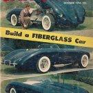 Car Craft October 1955  Fiberglass GMC Bel Air Corvette