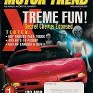 Motor Trend August 1997-Camaro Mercedes NASCAR Corvette