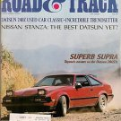 Road & Track October 1981 - Supra Stanza Spider Celica