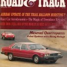 Road & Track January 1980 - Maserati Racing Corola Audi