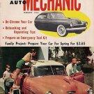 Home Auto Mechanic Feb 1956 Car Magazine Fix Repair Old