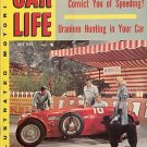 "Car Life Magazine July 1955 Movie ""The Racers"" Ferrari"