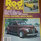Rod Action October 1980 - '40 Ford Coupe, Ford Flathead