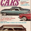 Cars Magazine October 1960 Comet Falcon Lancer Dart V8