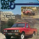 Pickup Van & 4WD December 1979 - Datsun Mini Gasohol