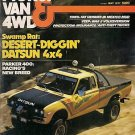 Pickup Van & 4WD May 1977 -Datsun Nomad King Cab Parker