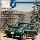 Pickup Van & 4WD February 1980 - Eagle Mehari Wrangler