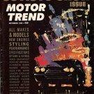 Motor Trend November 1962 - '63 Auto Show Issue - Vette
