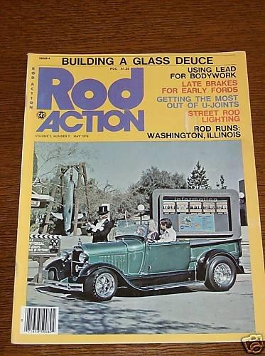 Rod Action Magazine May 1976 - Classic Car Street