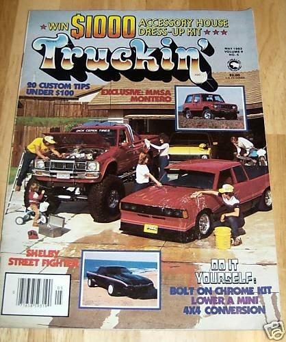 Truckin' May 1983 - 1970 Chevy Fleetside, '79 Plymouth