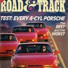 Road & Track November 1987 - Porsche BMW Audi Mercedes