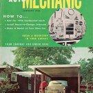 Home Auto Mechanic Jan 1956 Car Magazine Fix Repair Old