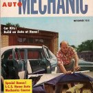 Home Auto Mechanic Nov 1955 Car Magazine Fix Repair Old
