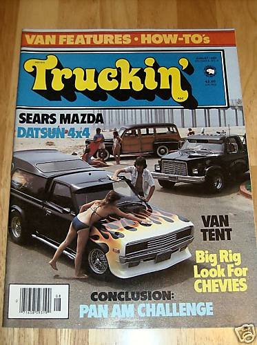Truckin' August 1980 - Big Rig Look for Chevy's