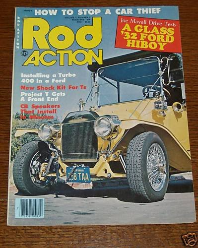 Rod Action February 1978 - 1932 Ford Hiboy