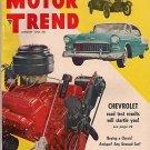 Motor Trend January 1955 - Farina Mite Kaiser Willys