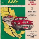 Motor Life February 1955 -Mexican Race Studebaker Atomic