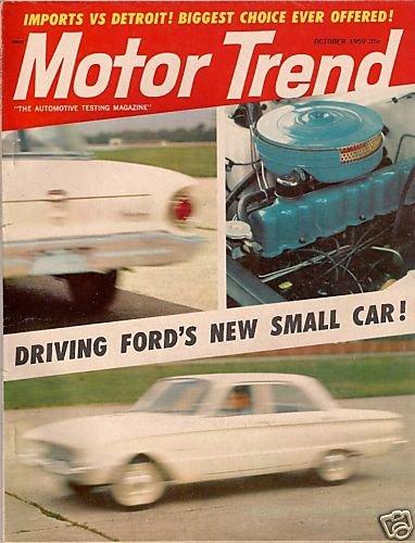 Motor Trend October 1959 - Austin Humber Mercedes Opel
