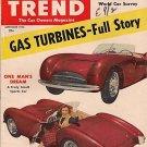 Motor Trend Spetember 1953 - Turbine Kaiser DeSoto
