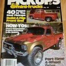Hot Rod Pickups & Mini-Trucks 1982 #10 - Chevy Ford