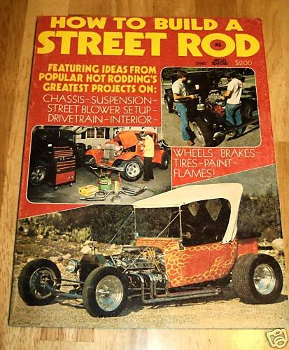 How to Build a Street Rod 1976 Vol 1 #1 First Issue